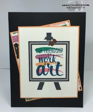 Playful Palette Work of Art 1 - Stamps-N-Lingers