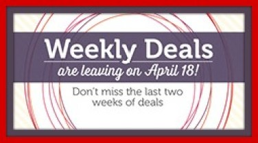 Weekly Deals Two Weeks Left