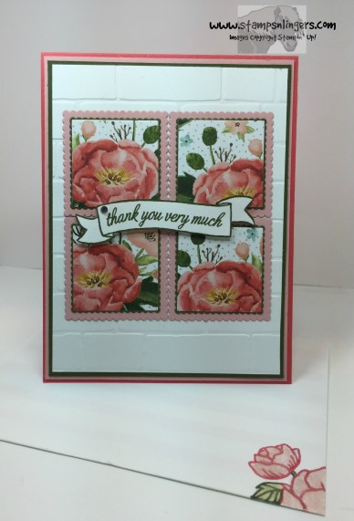 Basket For You Birthday Bouquet 6 - Stamps-N-Lingers