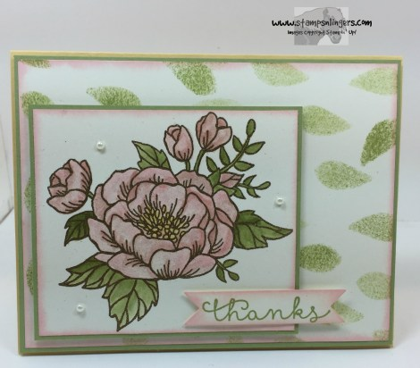 Bloomin' Love Thanks 2 - Stamps-N-Lingers