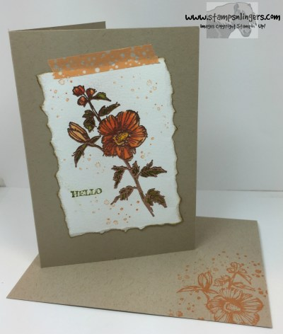 Fabulous Flora Notecard 6 - Stamps-N-Lingers