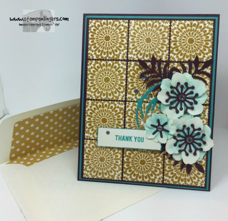 Moroccan Botanicals Thank You 7 - Stamps-N-Lingers