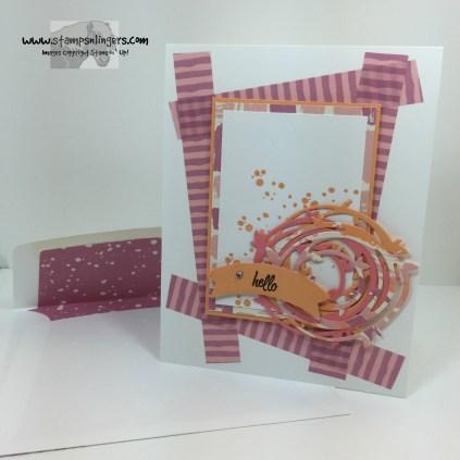 Swirly Bird Hello 7 - Stamps-N-Lingers