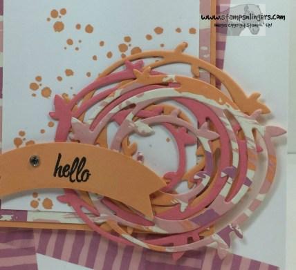 Swirly Bird Hello 8 - Stamps-N-Lingers