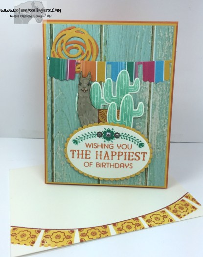 Birthday Fiesta Birthday Card 6 - Stamps-N-Lingers