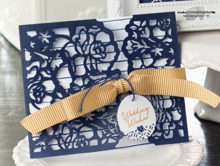 Detailed Floral Thinlit card