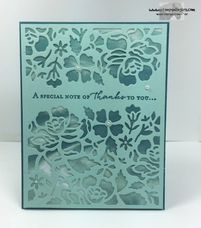 Floral Phrases Thanks 1 - Stamps-N-Lingers
