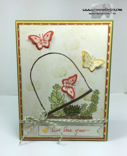 Live, Love, Grow Butterflies 1 - Stamps-N-Lingers