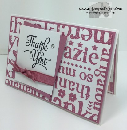 One Big Meaning World of Thanks 2 - Stamps-N-Lingers