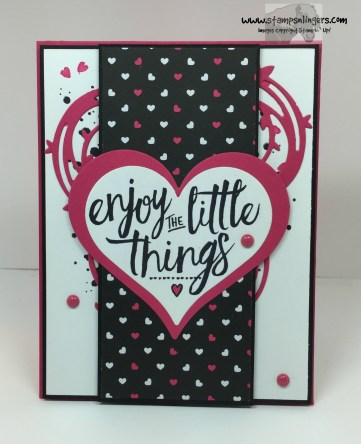 Pop of Pink Layering Love 1 - Stamps-N-Lingers