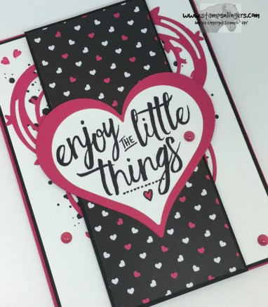 Pop of Pink Layering Love 4 - Stamps-N-Lingers