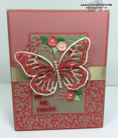 Swirly Birds and Butterflies 1 - Stamps-N-Lingers
