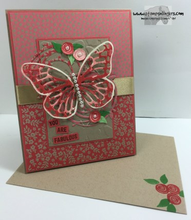 Swirly Birds and Butterflies 6 - Stamps-N-Lingers