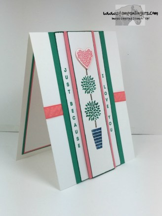 Vertical Greetings Because I Love You 2 - Stamps-N-Lingers