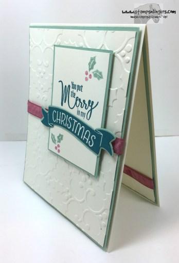 My Hero Christmas in July 3 - Stamps-N-Lingers