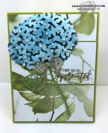 Thoughtful Branches Appreciation Hydrangea 1 - Stamps-N-Lingers