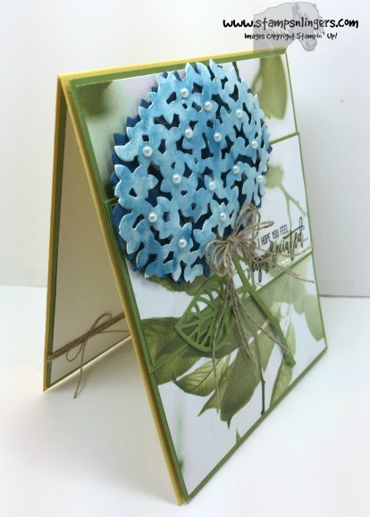 Thoughtful Branches Appreciation Hydrangea 2 - Stamps-N-Lingers
