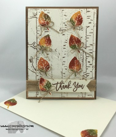 Falling Thoughtful Branches Autumn Leaves 6 - Stamps-N-Lingers