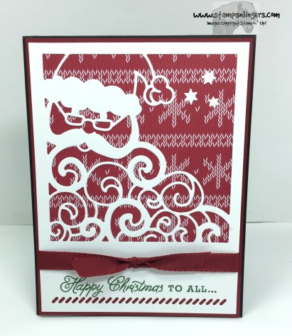 Greetings From Detailed Santa 1 - Stamps-N-Lingers
