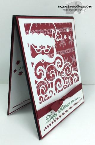 Greetings From Detailed Santa 2 - Stamps-N-Lingers