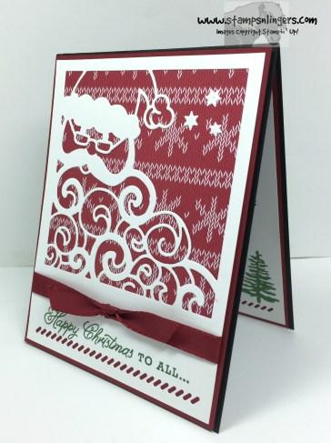 Greetings From Detailed Santa 3 - Stamps-N-Lingers