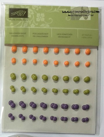 Halloween Nights Enamel Dots - Stamps-N-Lingers