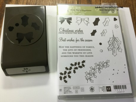 Holly Berry Happiness Bundle - Stamps-N-Lingers