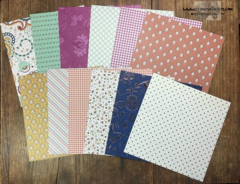 Petals & Paisley Specialty DSP - Stamps-N-Lingers