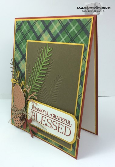 Pines and Paisley Blessed 3 - Stamps-N-Lingers