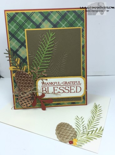 Pines and Paisley Blessed 6 - Stamps-N-Lingers