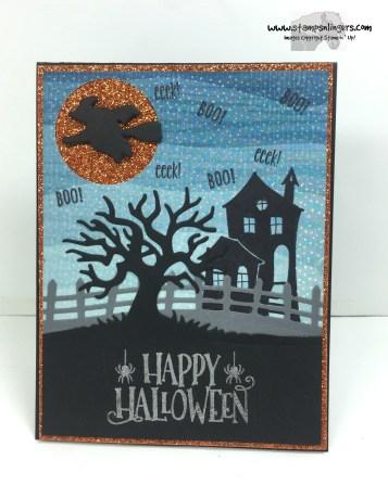 Spooky Fun Halloween Treat 1 - Stamps-N-Lingers