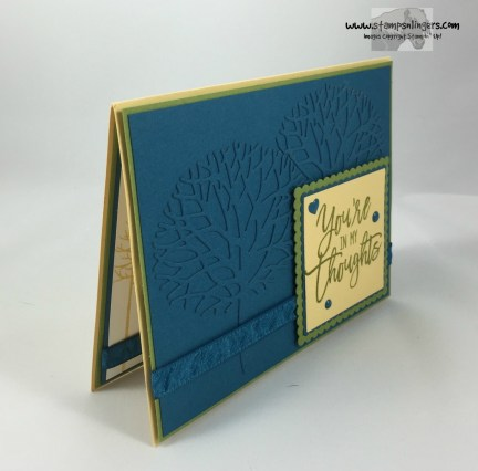 Thoughtful Branches Embossed Panel 2 - Stamps-N-Lingers