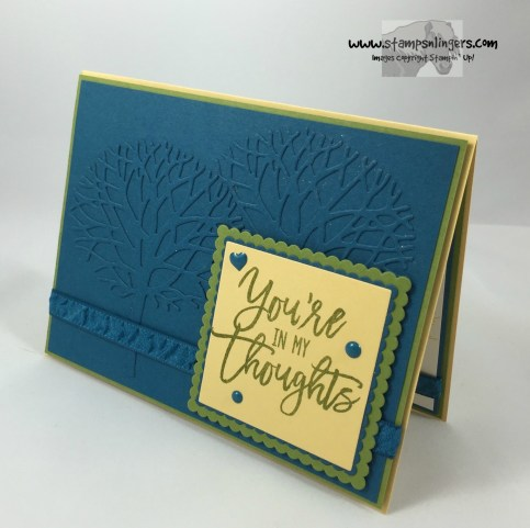 Thoughtful Branches Embossed Panel 3 - Stamps-N-Lingers
