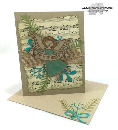Wonder of Christmas Pines 6 - Stamps-N-Lingers