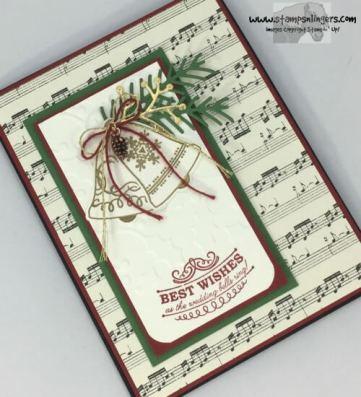 Seasonal Bells Christmas Wedding 4 - Stamps-N-Lingers