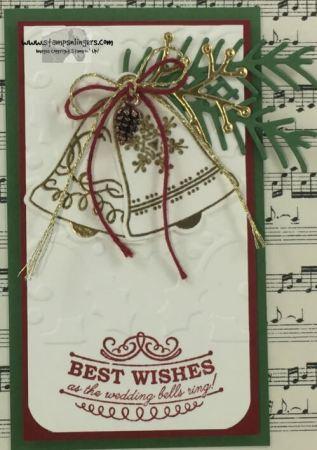 Seasonal Bells Christmas Wedding 9 - Stamps-N-Lingers