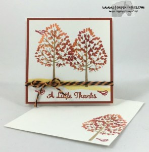 Totally Trees Thank You Notes 6 - Stamps-N-Lingers