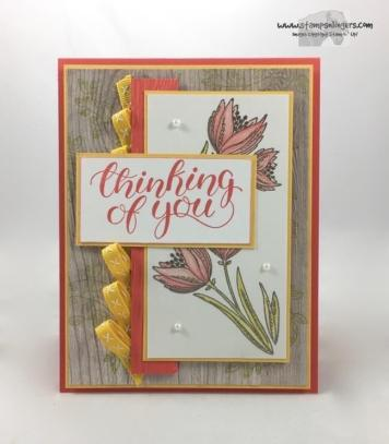 Count My Blessings Thinking of You - Stamps-N-Lingers 1
