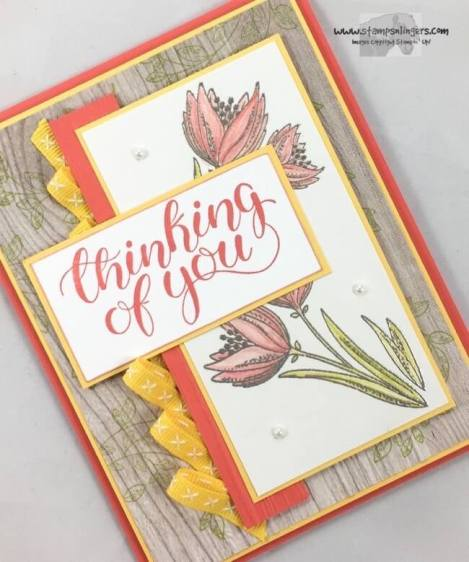 Count My Blessings Thinking of You - Stamps-N-Lingers 4