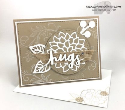 Lovely Words and Mayflowers - Stamps-N-Lingers 6