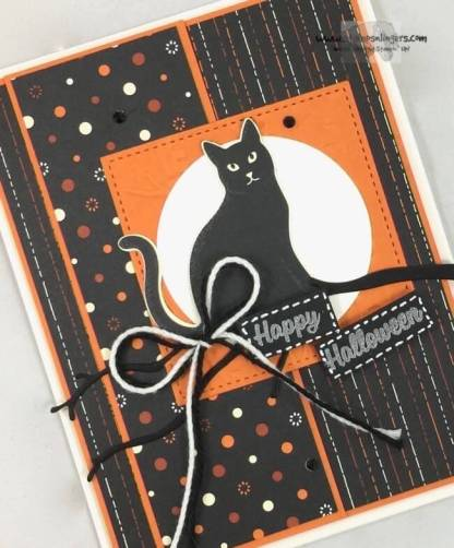 Seasonal Spooky Cat Punch Halloween - Stamps-N-Lingers 4