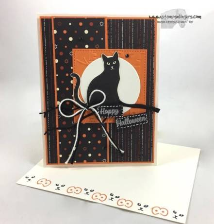 Seasonal Spooky Cat Punch Halloween - Stamps-N-Lingers 6