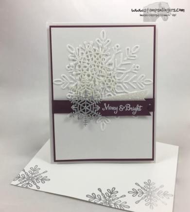 Seasonal, Swirly Sparkly Snowflakes - Stamps-N-Lingers 6