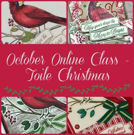 October Online Class