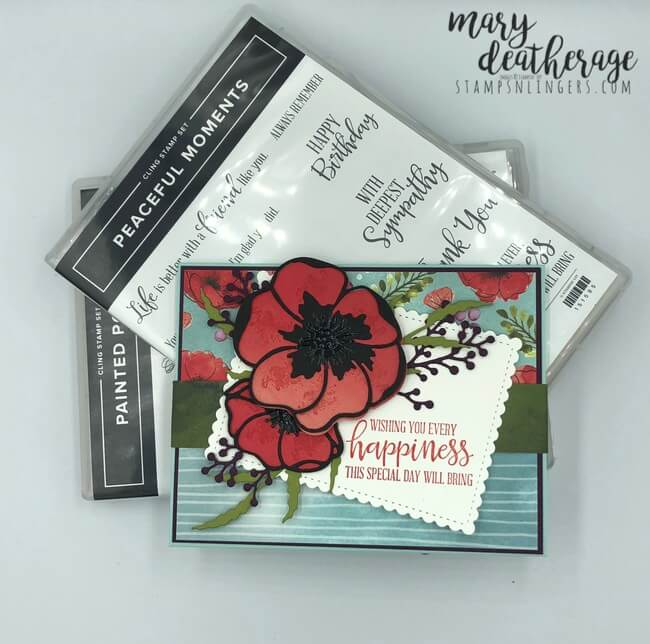 P.S 5 Large Poppy Die Cuts Any Card! Anniversary//Mother/'s Day