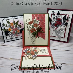 Wrapped Bouquet – Online Class to Go – March 2021