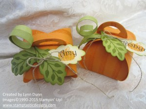 curvy keepsake pumpkin boxes