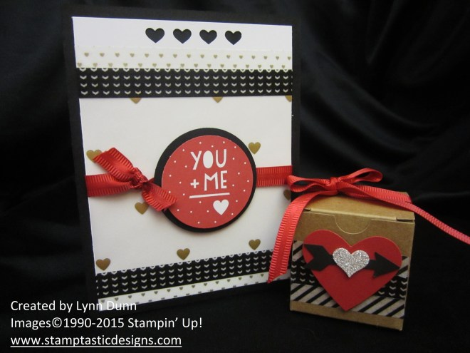 Valentine gift set you and me