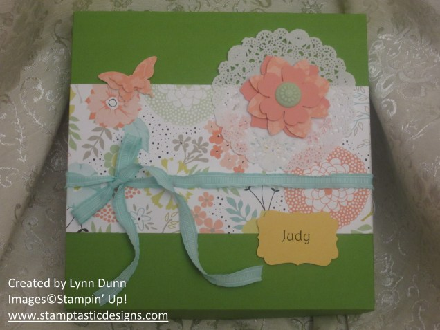 spring stampin extravaganza guest boxes