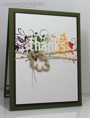 Seasonally Scattered - Stamp With Amy K
